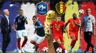 Ultimele meciuri ale Mondialului. Cine ajunge în finală, Belgia sau Franța?