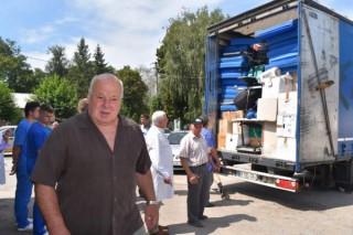 Un gest de solidaritate a poporului francez: Au oferit un camion cu echipamente medicale pentru spitalul din Ungheni