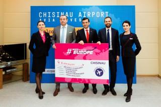 Un nou succes în parteneriatul Avia Invest – Wizz Air. Compania low cost mai aduce o aeronavă la Chișinău și lansează 5 curse noi