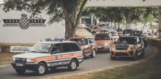 (video) Aniversarea de 70 de ani a Land Rover, marcată prin cea mai mare paradă de maşini de pe Goodwood Hill