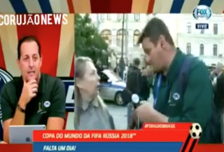 (video) Barieră lingvistică: Discuția amuzantă dintre o femeie din Rusia și un reporter portughez, venit la Campionatul Mondial