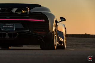 (video) Bugatti Chiron a pozat în premieră pentru Vossen Wheels cu un set de jante noi