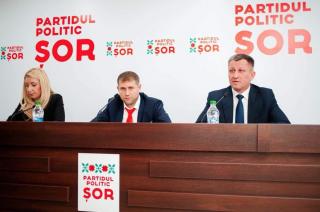 """(video) Conferința candidatului Partidului """"Șor"""" la funcția de primar al municipiului Bălți: Dați-i o șansă orașului de a renaște"""