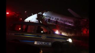Video cu momentele de groază trăite de pasagerii avionului care s-a prăbușit în Africa de Sud