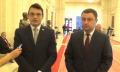 (video) Declarație de presă susținută de copreședinții Comisiei Comune pentru Integrare Europeană dintre Parlamentul Republicii Moldova și Parlamentul României, George Mocanu și Bogdan-Ionel Rodeanu