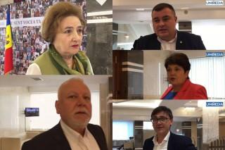 (video) Protestul opoziției de astăzi, văzut prin ochii unor deputați