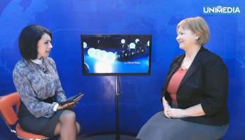 (video) Ecaterina Mardarovici în studioul UNIMEDIA