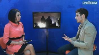 (video) Dionis Cenușă în studioul UNIMEDIA