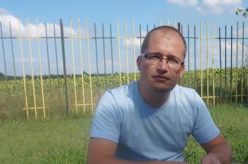 Alexandru Zubco în studioul UNIMEDIA
