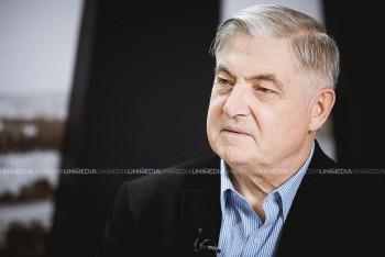 Vasile Nedelciuc în studioul UNIMEDIA