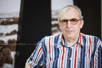 Petru Bogatu în studioul UNIMEDIA