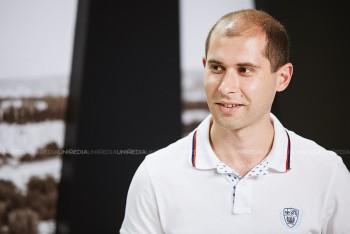Sergiu Tofilat în studioul UNIMEDIA