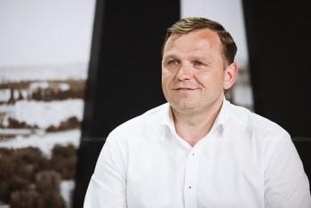 Andrei Năstase în studioul UNIMEDIA